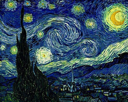 شب پر ستاره ونگوگ