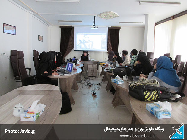 کلاس آموزشی طراحی دیجیتال