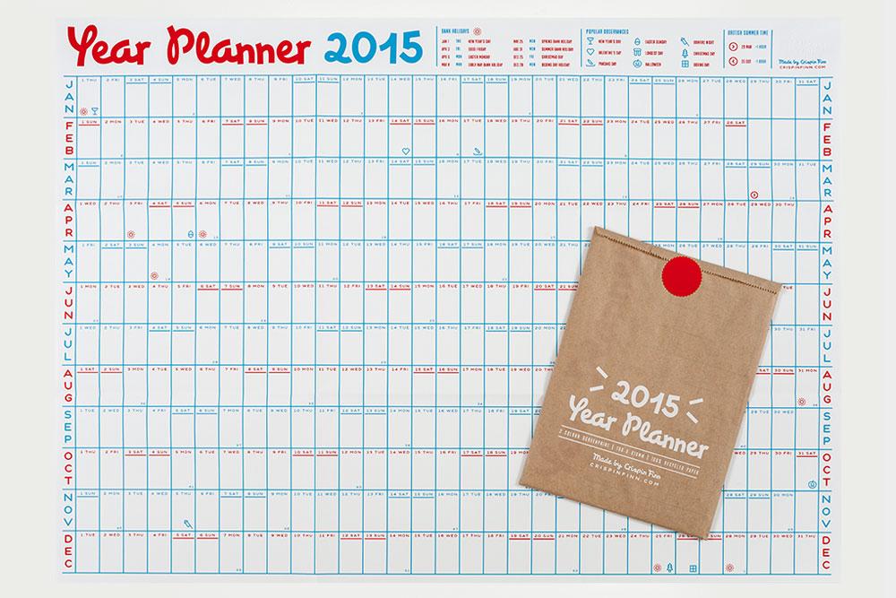 تقویم برنامهریزی ۲۰۱۵