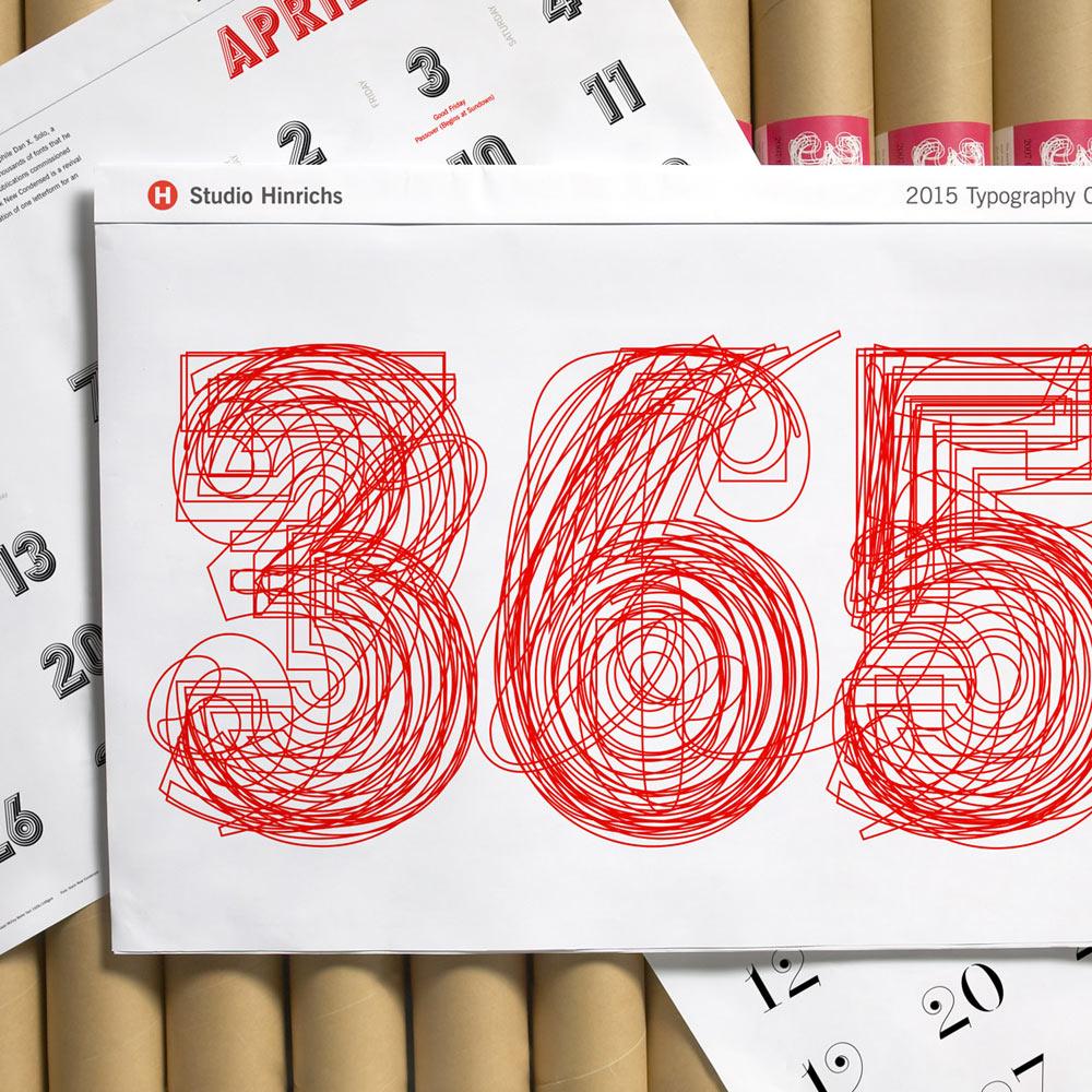 تقویم تایپوگرافی ۳۶۵