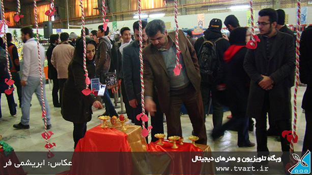 جشنواره تخم مرغهای رنگی در بازارچه خیریه طلوع مهر