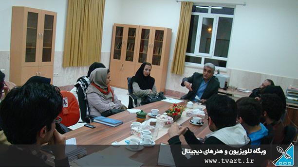 تشکیل جلسه اعضای انجمن و نمایندگان ورودی ها با مسئولین دانشکده هنر